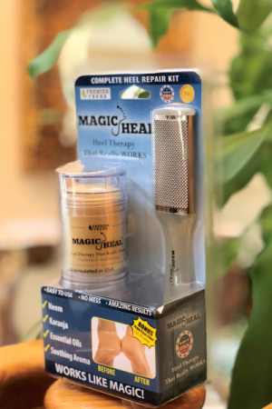 Blister F 2 300x450 - Magic Heal – Complete Heel Repair Kit<br> Free Shipping